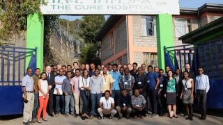 Children's orthopaedics training course in Ethiopia