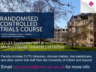Randomised controlled trials course