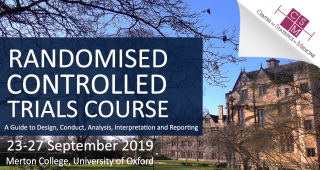 Randomised controlled trials course 2019