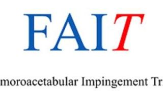 FAIT is a multicentre randomised controlled clinical trial comparing surgical and non-surgical approaches to treating femoroacetabular impingement (hip impingement).