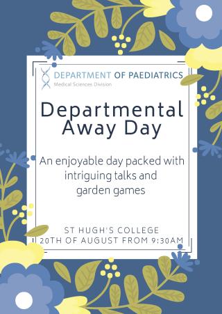 Department of paediatrics away day