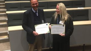Congratulations to Professor Graham Ogg and Associate Professor Tatjana Sauka-Spengler – the first recipients of the RDM Awards for Excellent Supervision. The Awards were presented at the RDM Symposium on Monday 19 March 2018.