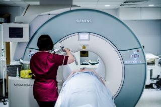 Taking part in an MRI study