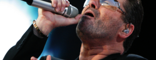 Picture of the George Michael singing