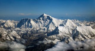 Mount Everest from the air