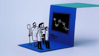 Vr software illustration
