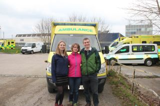 Oxford medical students take ambulance to mongolia