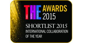 Award nomination recognises exceptional international collaboration