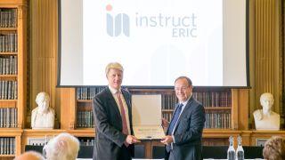 Instruct granted ERIC status