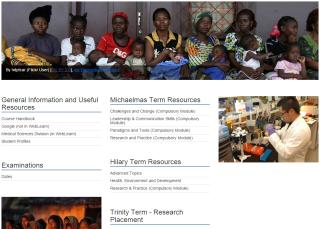 Sakai Homepage Generator