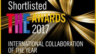 International research network nominated for 'Oscar of higher education'