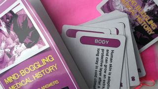 New card game brings 'Mind-Boggling Medical History' to life