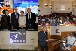 Images from dpag astronauts talk