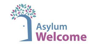 Asylum welcome logo