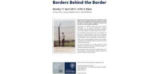 Borders behind the border