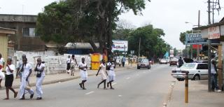 Streets of Accra, Ghana