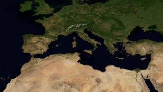 North Africa and Europe
