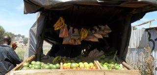 Groceries from the neighbourhood kibanda