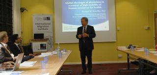International migration of medical doctors workshop