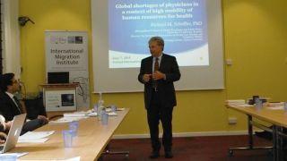 Health economist Professor Richard Scheffler visits IMI