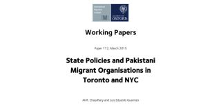 The effect of state policies and migrant organisations in toronto and nyc