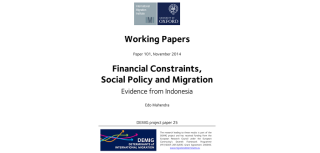New demig paper studies the effects of origin country social policy on migration