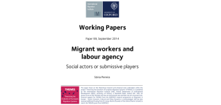 Migrants social actors or submissive players