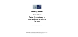 New paper examines academic mobility
