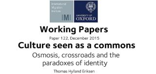 Examining culture as a commons new working paper from thomas hylland eriksen