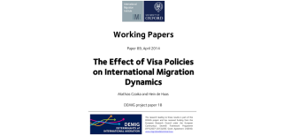Visas reduce immigration and return new working paper