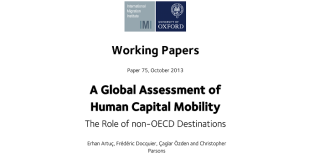 New working paper provides a global assessment of human capital mobility