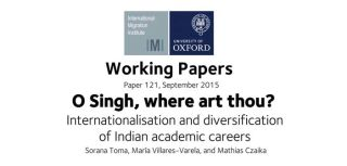 What drives the mobility of indian born researchers and scientists new working paper examines the internationalisation of careers