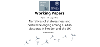 New paper examines narratives of statelessness and political belonging among kurdish diasporas in sweden and the uk