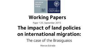 How do land policies impact on international migration new working paper considers case of brazil and paraguay