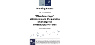 Mixed marriage a new working paper