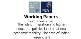 The role of migration and higher education policy in indian academic mobility new working paper