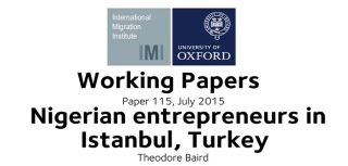 New working paper considers nigerian entrepreneurs in istanbuls textile markets