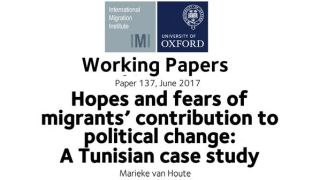 Working Paper: Hopes and fears of migrants' contribution to political change, a Tunisian case study