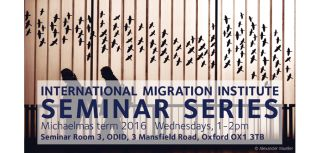 Michaelmas seminar series 2016