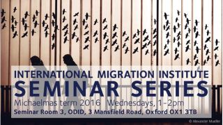 Between knowledge and power: Understanding how international organisations see migration