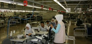 Turkish garment workers