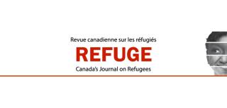 Cover of refuge canadas journal on refugees