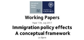 Immigration policy effects 2013 a conceptual framework 2