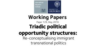Working paper 129 triadic political opportunity structures