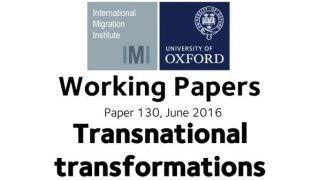 Working paper: Exploring relationship between migration and change