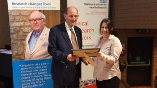 Winners at the Thames Valley Health Research Awards