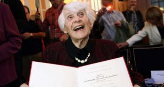Professor of paediatrics successfully defends her phd 80 years later than originally planned
