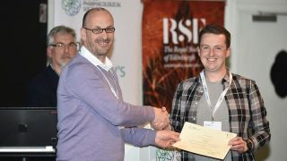 BHF student Chris Lindsay wins poster prize at BPS meeting