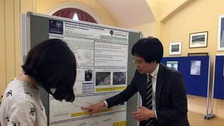 Sungwon presents his work at lmh