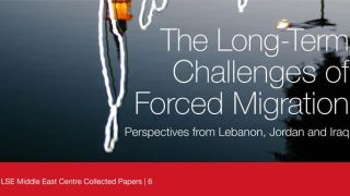 Now online: papers from LSE Middle East Centre workshop on the Syrian refugee emergency, with Dawn Chatty